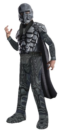 (Man of Steel General Zod Deluxe Kinderkostüm - M - 128cm)