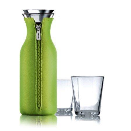 Eva Solo Kühlschrank Karaffe + 2 Gläser, limette