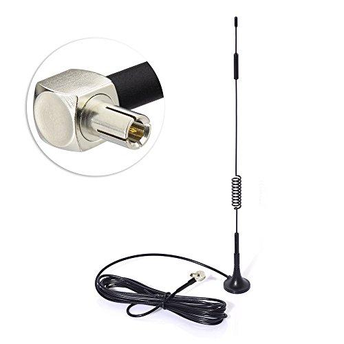 Stick Antenne Booster (Eightwood 4G LTE Antenne TS9 Antenne 7dbi Signal Booster mit 3m RG174 TS9 Verstärker für 4G LTE WiFi Router Mobiler Hotspot Handy-Booster-System MEHRWEG)