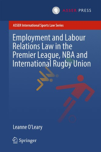 Employment and Labour Relations Law in the Premier League, NBA and International Rugby Union (ASSER International Sports Law Series)