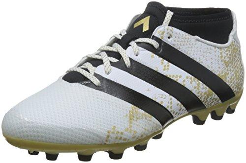adidas Herren Ace 16.3 Primemesh Fußball-Trainingsschuhe, Multicolore (Ftwwht/Goldmt/Golden), 45 1/3 EU