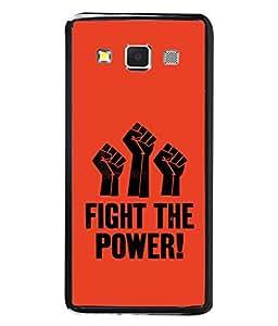 Fuson Designer Back Case Cover for Samsung Galaxy A5 (2015) :: Samsung Galaxy A5 Duos (2015) :: Samsung Galaxy A5 A500F A500Fu A500M A500Y A500Yz A500F1/A500K/A500S A500Fq A500F/Ds A500G/Ds A500H/Ds A500M/Ds A5000 (Fight the Power Raise voice )