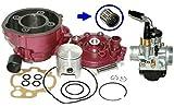 Unbranded 90ccm Sport Racing Zylinder KIT VERGASER 21mm für Aprilia RS EXTREMA 50 AM6 Zylinderkit
