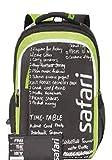 Safari Chalkboard 36 ltrs Black Backpack
