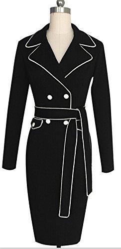 KingField - Robe - Crayon - Femme Noir - Noir