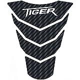 Psler Motorrad 3d Tankpad Aufkleber Für Tiger 1200 Weiß Auto