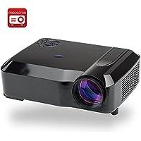 3,800 lumen LED Projector, 5,8 Inch LCD Panel, 20 00:1 Contrast Ratio, 1280 x 768 DPI risoluzione (Black) -  Confronta prezzi e modelli