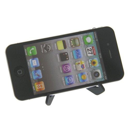 foto-kontor Tischhalter Halter Halterung DT-29 für Blackberry 9000 Bold 8220 Pearl 9500 Storm 8220 Flip 8800 8900 Curve Curve 8900 Pearl