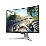 "Comprar BenQ EX3203R - Monitor Curvo Gaming de 31.5"" (QHD 2K, 144 Hz, HDR, FreeSync 2, Sensor B.I, HDMI, Display Port, USB-C) Color Negro..."