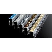 decorazione barra listello profili decorativi in alluminio glitter argento per rivestimento mattonelle piastrelle muro ceramica bagno