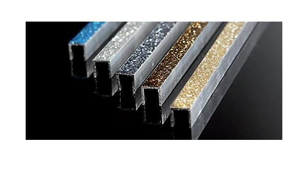 Decorazione barra listello profili decorativi in alluminio glitter