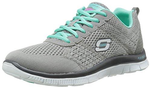 Skechers - Flex AppealObvious Choice, Sneakers da donna Grigio (gytq)