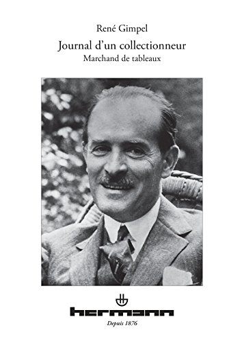 Journal d'un collectionneur par René Gimpel