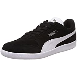 Puma Icra Trainer SD, Zapatillas Unisex Adulto, Negro (Black-White), 44 EU