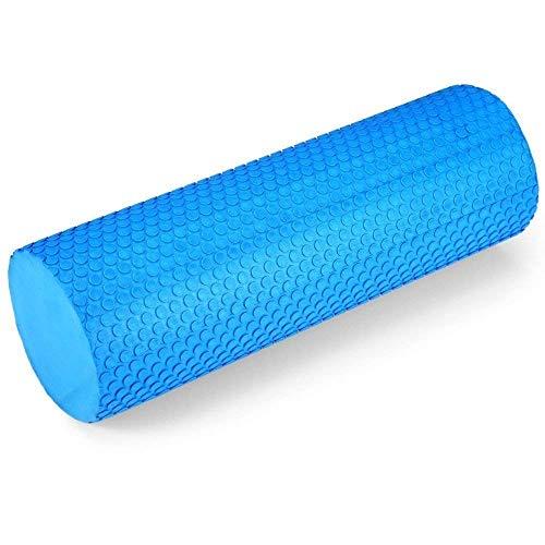 Strauss Yoga Foam Roller, 30cm (Blue)