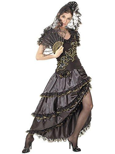 Lady Of Kostüm Spain - Partyklar Rumba Lady Mercedes Kleid Kostüm M 40/42