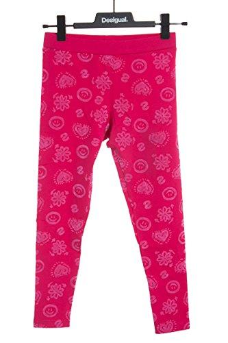 DESIGUAL - Madchen printed leggins cross s fuxia