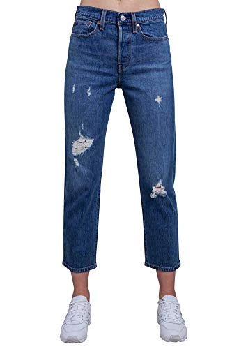 Levi s Levis 34964 Wedgie Straight Vaqueros Mujer Denim Medium Blue 27
