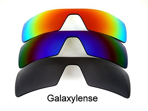 883f8486aa0b1a Galaxie verres de rechange pour Oakley Oil Montage de pêche noir   or    rouge Couleur