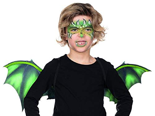 Rubie's Drachen Flügel Accessoire Karneval Kostüm - Metall Flügel Kostüm