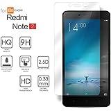 Xiaomi Redmi Note 2 Cristal Protector de pantalla, eProte® ultra delgado Vidrio Templado para Xiaomi Redmi Note 2 / Redmi Note 2 Prime, 5,5 pulgadas - Dureza del vidrio 9H, Anti-golpe, Anti-rayado, Revestimiento oleofóbico, anti-huellas dactilares, Fácil de limpiar, Transparencia HD y Delicado al tacto, Espesor óptimo de 0.26 mm, los bordes redondeados de 2.5D