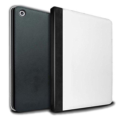 STUFF4 PU-Leder Hülle/Case/Brieftasche für Apple iPad 9.7 (2017) tablet / Damast Muster / Blumen Spitze Kollektion