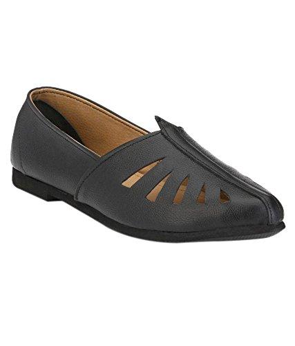 Boggy Confort Black Leather Nagra (10)