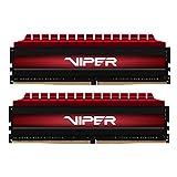 Viper 4 8GB (2 x 4GB) DDR4 3000MHz C16 Kit di Memoria Gaming XMP 2.0 da 8GB Rossa PV48G300C6K