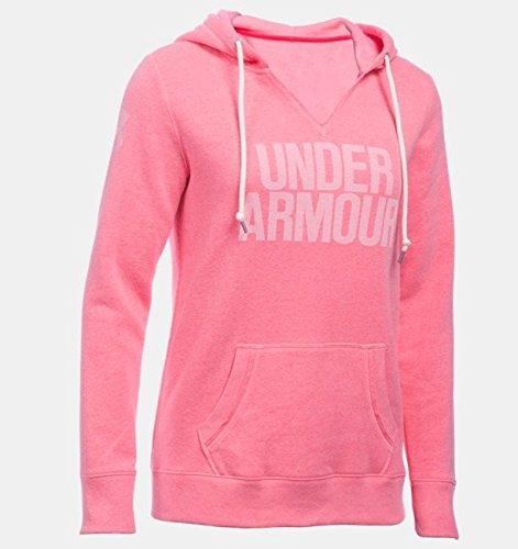 Under Armour Damen Fitness Sweatshirt Favorite Fleece Hoodie Knock Out, L Fitness-fleece-pullover