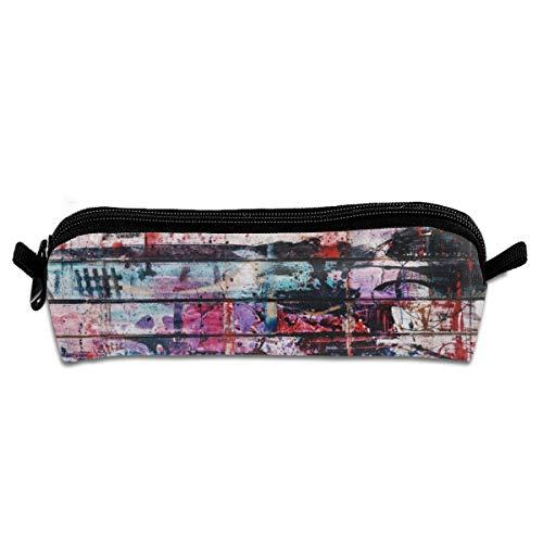 Pengyong Mehrfarbiges Spritzlack-Mäppchen für Schüler, Stifte, Stifte, mit Reißverschluss, kleine Kosmetiktasche, Make-up-Tasche, Münzbörse für Kinder, Jugendliche und andere Schulbedarf