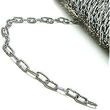 mit schwarzem Japanlack beschichtet Stahlkette stark und robust auf Spule und am St/ück erh/ältlich