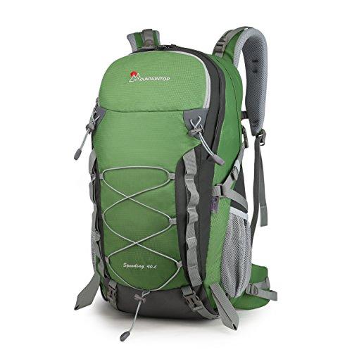 Imagen de mountaintop 40l  impermeable / morral que acampa / viaje/  al azar con la cubierta impermeable al aire libre escalada  para la escuela