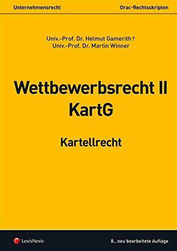 Wettbewerbsrecht II - Kartellrecht (Skripten)