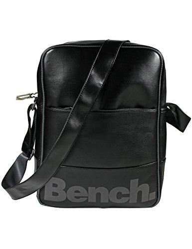 Bench, Borsa a tracolla Montuk, Nero (Jetblack), 27 x 11 x 36 cm, 10,7 litri