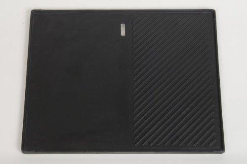Coobinox Gusseiserne Grillplatte für Edelstahl Gasgrill 3 BE 'Premium Linie'