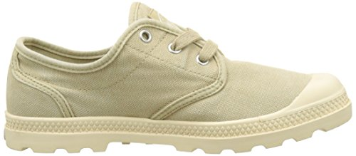 Palladium Pampa Oxford Lp, Sneakers Basses Femme Beige (Sahara/ecru)