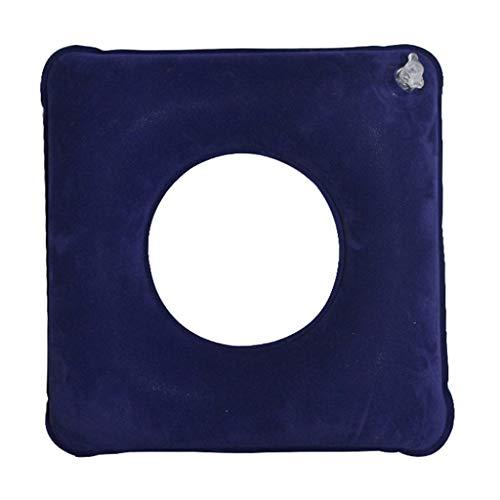 GIUU Anneau de mémoire Gonflable pour soulager Le siège de Voiture de Fauteuil Roulant portatif de Fauteuil Roulant de Voiture de Fauteuil Roulant de soulagement de Queue d'acné