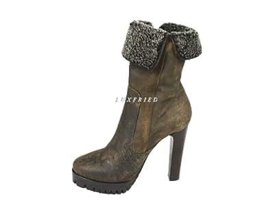 Byblos Schuhe Shoe Stiefelette Damen Boots 7235 Gr.40