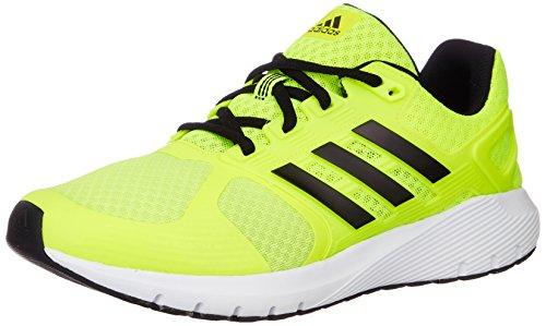 adidas Herren Duramo 8 Laufschuhe, Gelb (Solar Yellow/Core Black/Solar Yellow), 42 EU