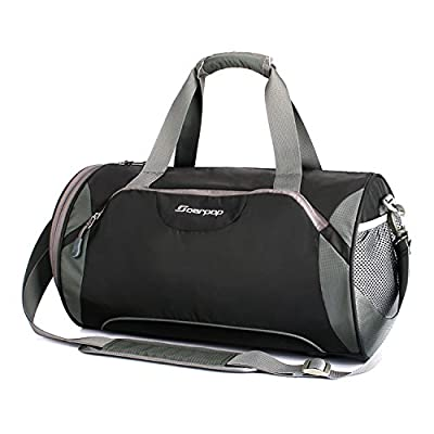 Travel Duffel Bag with Shoe Compartment,Trendsetter Overnight Bag Swimming Gym Bag - cheap UK light shop.