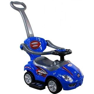 Baby Spielzeugauto ARTI 381 Mega Car Deluxe BLUE / BLAU Lauflernhilfe Lauflernwagen Kinderfahrzeuge