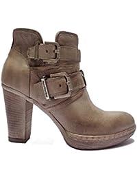 3c139c1ed06 Nero Giardini - Zapatos de vestir de Piel para mujer beige champán 37