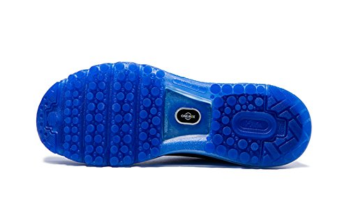 Onemix Homme Air Baskets Course Gym Fitness Sport Chaussures Bleu