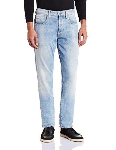 G-STAR Herren 3301 Tapered Jeans Blau (lt aged 6997-424)