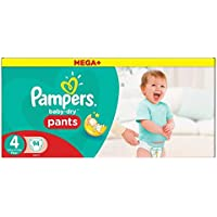Pampers Baby Dry Pantalon taille 4 Mega Box Plus 94 par lot Coque de 5 (Saphir tendances Ltd de l'article)