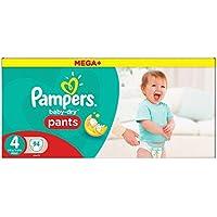 Pampers Baby Dry Pantalon taille 4Mega Box Plus 94par lot Coque de 5(Saphir tendances Ltd de l'article)