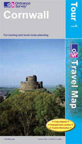 Cornwall (OS Travel Map - Tour Map)