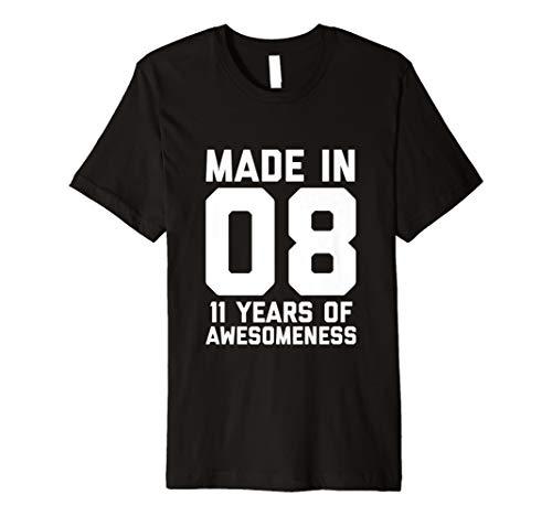 11th Birthday T Shirt Boy Girl 11 Year Old Daughter Son Gift