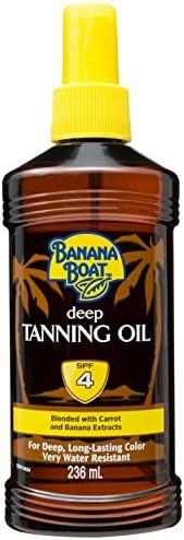 Banana Boat 236 ml Tanning Oil Spf 4