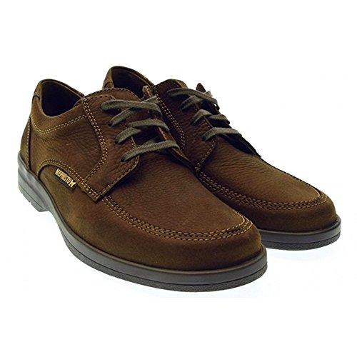 Mephisto , Chaussures de ville à lacets pour homme Marron - T.moro